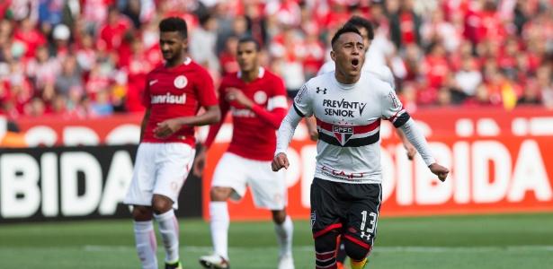 Cueva é uma das esperanças do São Paulo para 2017