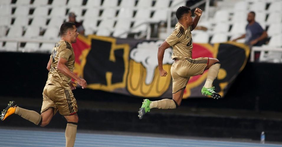 Rithely iguala para o Sport contra o Botafogo no Engenhão
