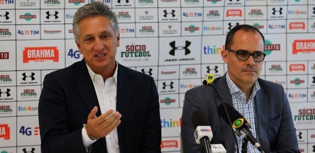 Presidente Pedro Abad e CEO Marcus Vinicius Freire tem questão importante para solucionar