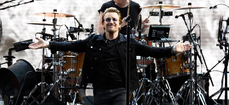 Show do U2 de Bono Vox causou polêmica no São Paulo, com escândalo de ingressos e camarotes falsos - REUTERS/Dylan Martinez