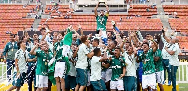 Palmeiras disputará a Copa SP com a base que foi campeã paulista sub-20 em 2017