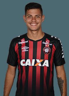Bruno Guimarães, meia do Atlético-PR