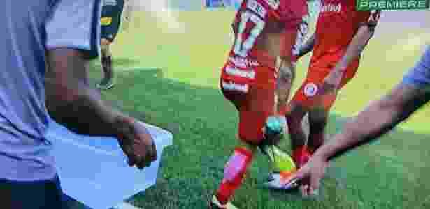 Inter pediu e arbitragem fará duas paradas técnicas para hidratação - reprodução/Premiere