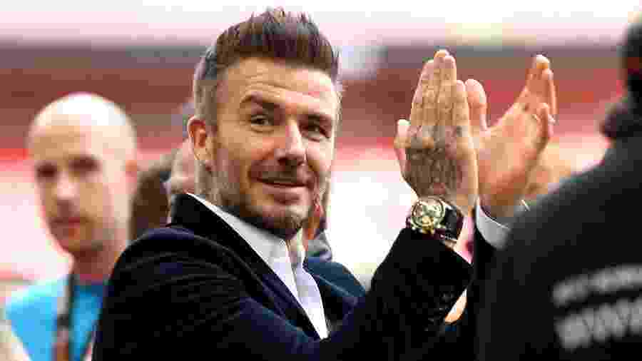 "David Beckham é sócio-fundador e diretor de futebol do Inter de Miami - Tony O""Brien/Action Images via Reuters"