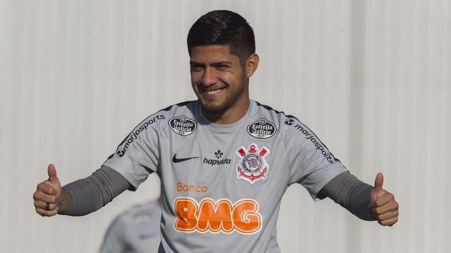 """Sergio Díaz já está """"95% fora do Corinthians"""", segundo declaração de seu empresário - Daniel Augusto Jr/Ag. Corinthians"""