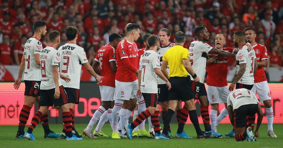 Internacional Flamengo confusão