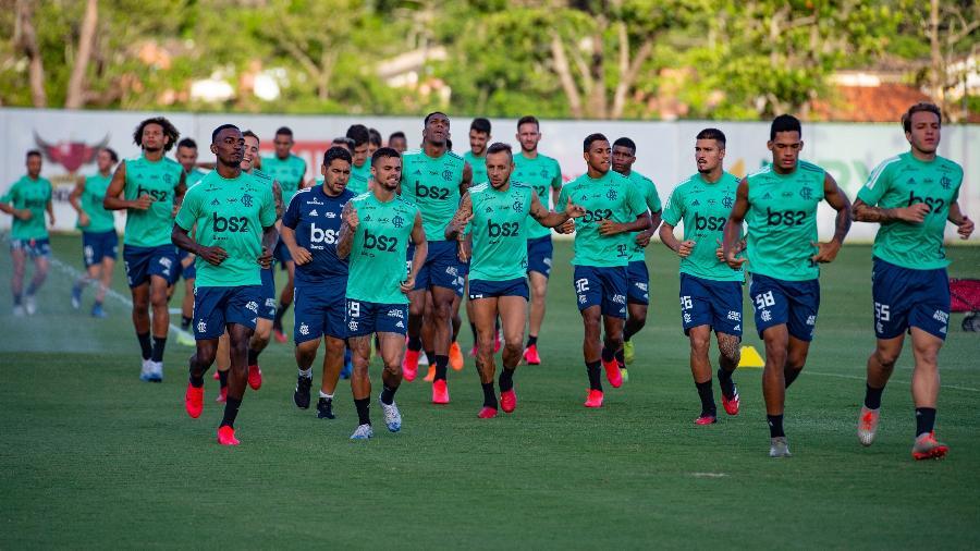 Elenco do Flamengo não se reapresentará nesta segunda-feira - Alexandre Vidal / Flamengo