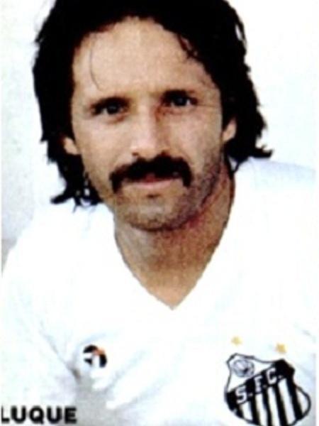 Luque apresentado no Santos em 1983 - Reprodução Site Futebol Portenho