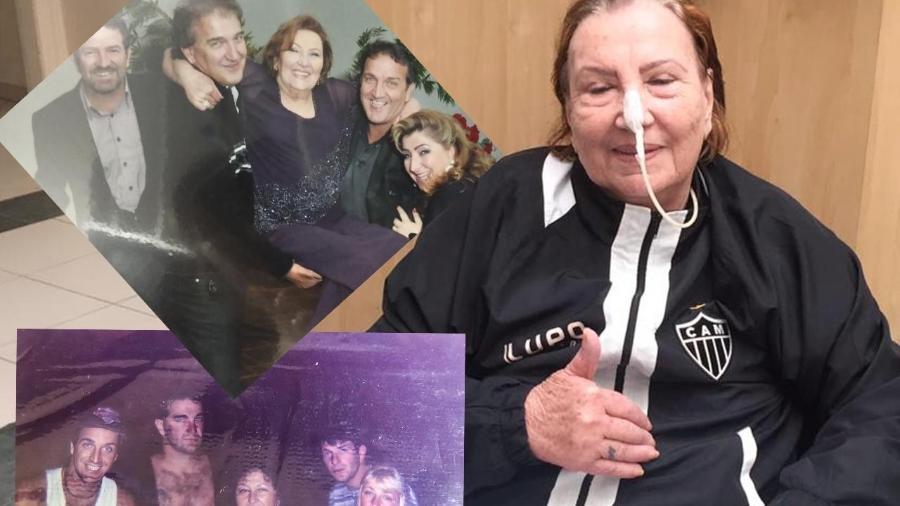 Dona Nilde receberá alta médica nesta quinta-feira (6), após se curar da Covid-19 - Arquivo Pessoal