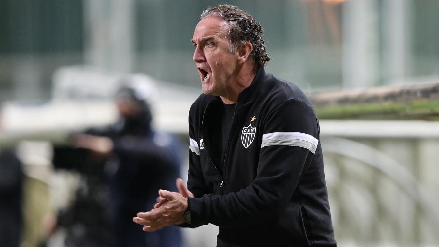 Técnico Cuca levou o Galo à sequência de sete vitórias seguidas no Brasileiro de 2012 - Pedro Souza / Atlético-MG