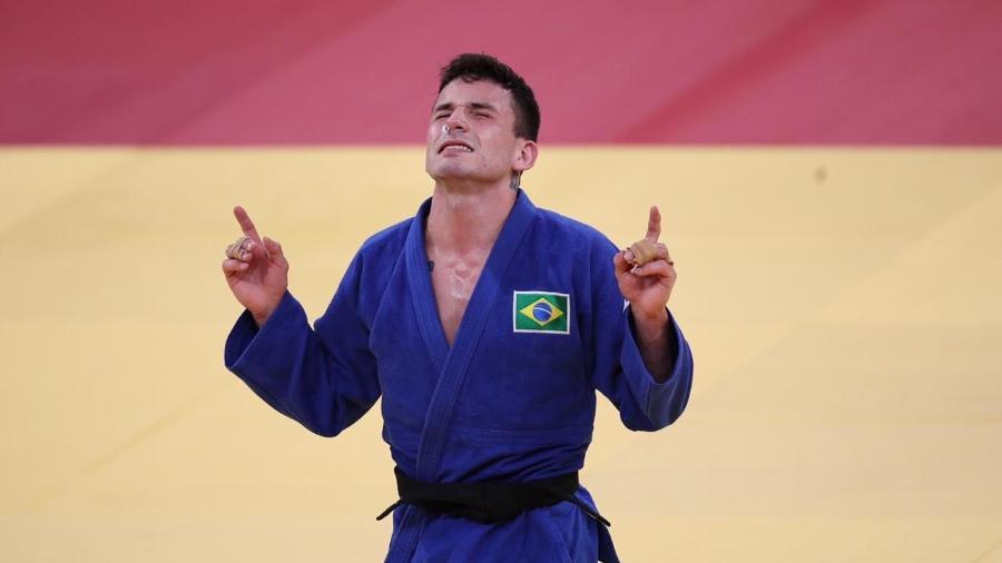Daniel Cargnin conquistou o bronze no judô e somou a segunda medalha para o Brasil nas Olimpíadas - Gaspar Nóbrega/COB
