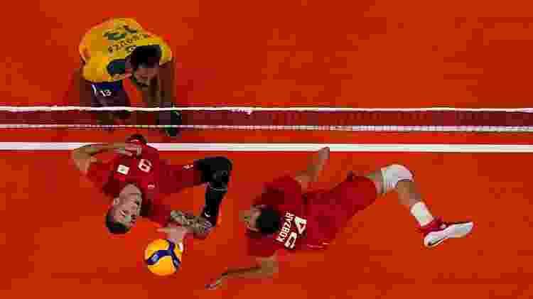 Vôlei, Brasil x Rússia - Carlos Garcia/Reuters - Carlos Garcia/Reuters