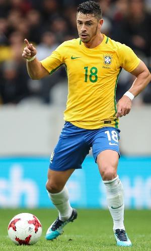Giuliano já foi convocado para a seleção brasileira
