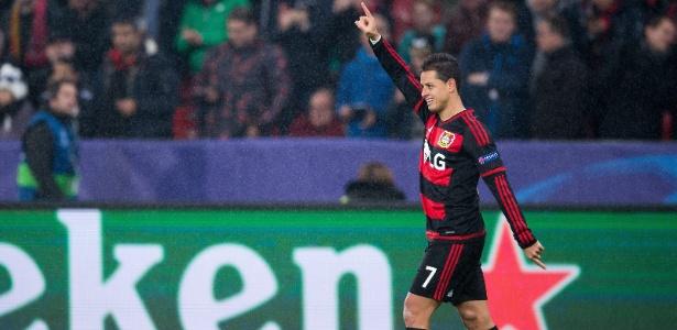 Chicharito está no Bayer Leverkusen desde 2015