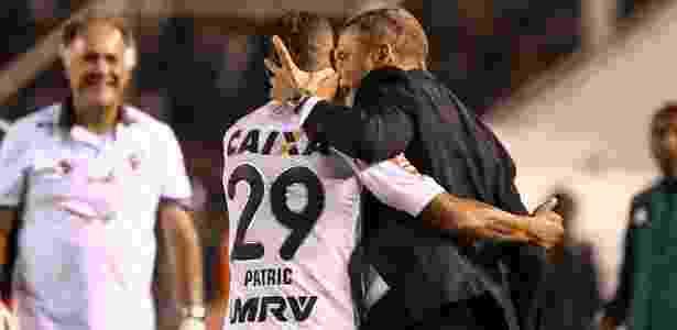 Patric conta com o apreço de Diego Aguirre e pode seguir como titular do Atlético-MG - Bruno Cantini/Clube Atlético Mineiro