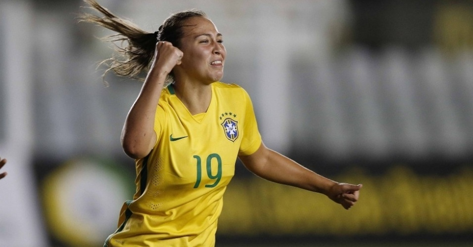 Marjorie Castro em ação pela seleção sub-20