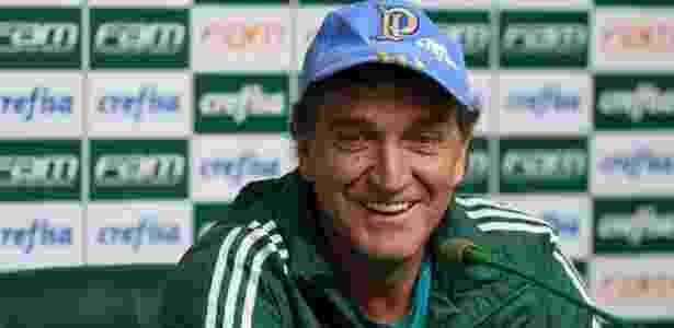 Cuca sorri Palmeiras - Cesar Greco/Fotoarena - Cesar Greco/Fotoarena