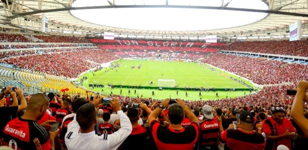A torcida do Flamengo lota o Maracanã: acordo inovador para 2018 pode ser fechado - Rodrigo Coca / Flamengo