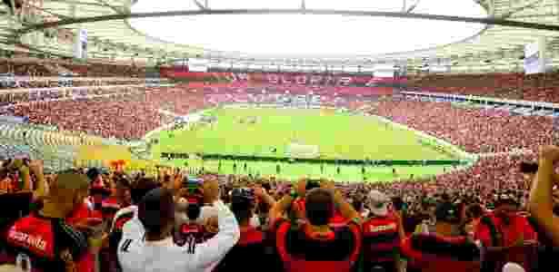A torcida do Flamengo lotou o Maracanã na volta do time ao palco preferido - Rodrigo Coca / Flamengo