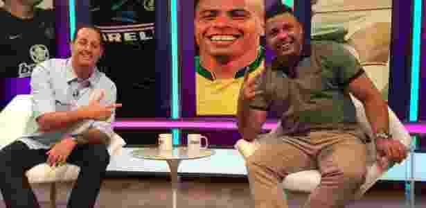 """Ronaldo concedeu entrevista ao programa """"Aqui com Benja"""" - Divulgação/Fox Sports"""