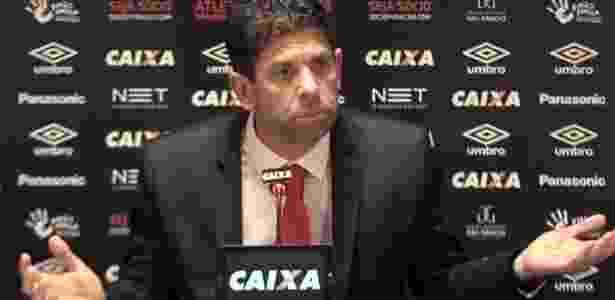 Fabiano Soares: oratória aumenta desgaste com a torcida - Reprodução/TV CAP