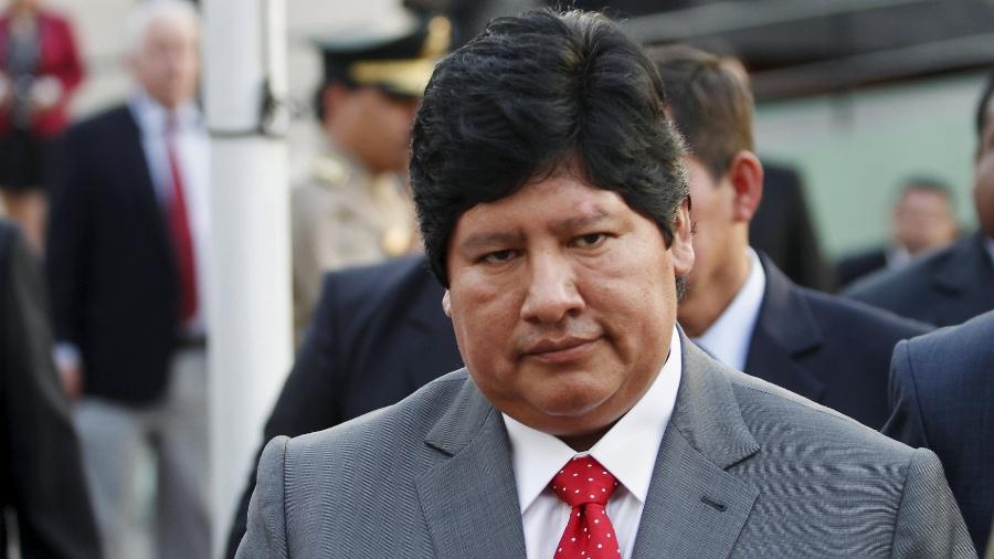 Edwin Oviedo, presidente da Federação Peruana de Futebol - REUTERS/Stringer/Files