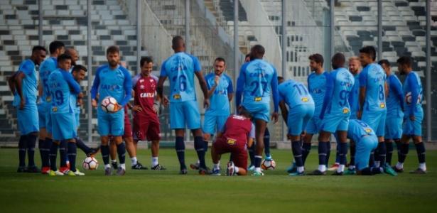 Elenco do Cruzeiro se reúne durante treinamento e é cobrado por diretoria - Vinnicius Silva/Cruzeiro/Divulgação