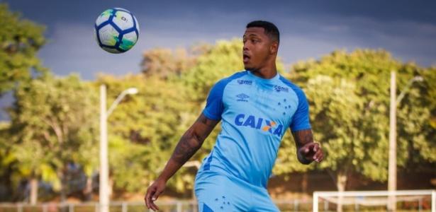 David, atacante do Cruzeiro, pode fazer a terceira partida consecutiva - Vinnicius Silva/Cruzeiro/Divulgação