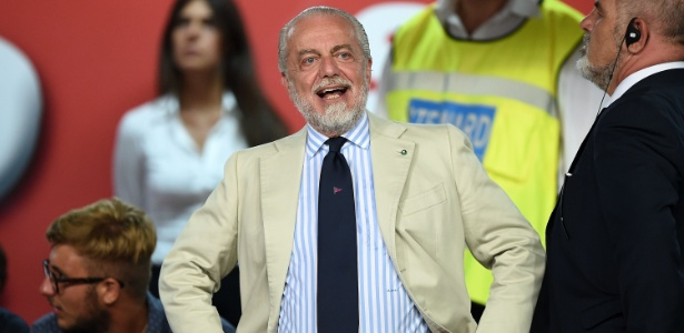 Em 2004, De Laurentiis assumiu a presidência do Napoli e está na equipe italiana até hoje - Francesco Pecoraro /Getty Images