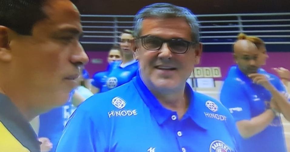 José Roberto Guimarães, técnico do Hinode Barueri