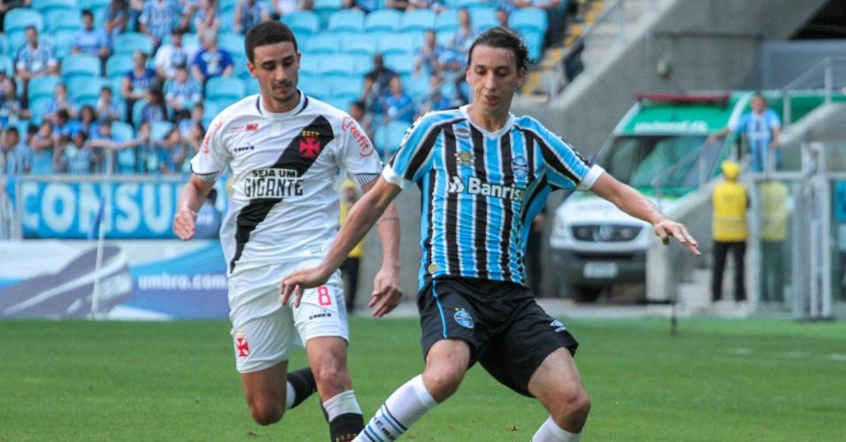 Geromel, zagueiro do Grêmio