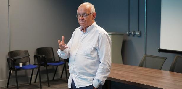 Romildo Bolzan Jr., presidente do Grêmio, diz que clube gaúcho não entrará em leilão - Lucas Uebel/Grêmio