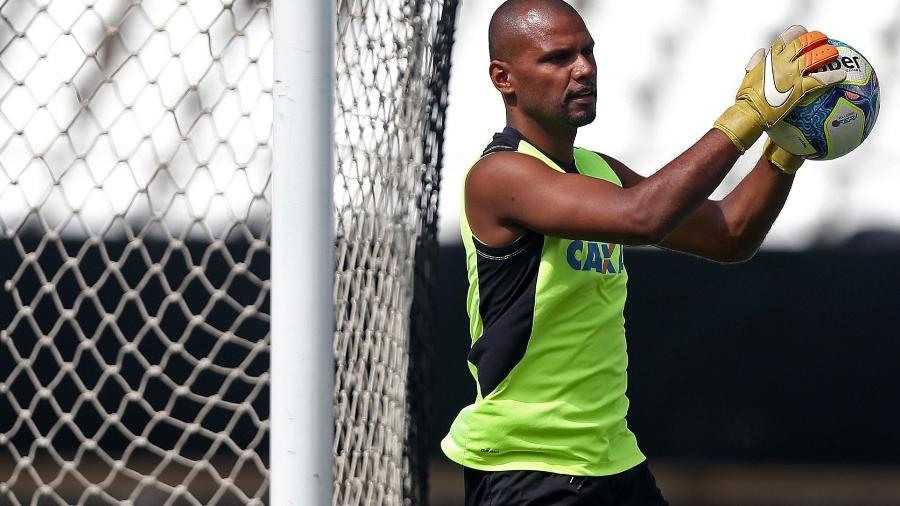 Jefferson durante treino do Botafogo - Vitor Silva/SSPress/Botafogo