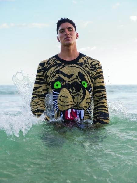 Gabriel Medina é capa da revista GQ de março - Vavá Ribeiro/GQ