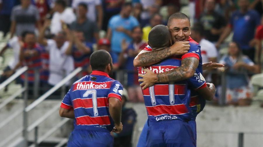Wellington Paulista, durante jogo entre Fortaleza e Athletico - Pedro Chaves/AGIF