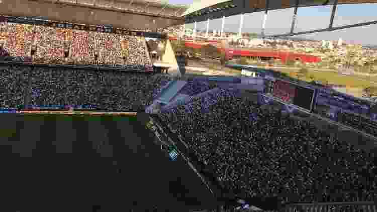 Torcida do CSA marca presença na Arena Corinthians, em partida pelo Brasileirão  - UOL - UOL