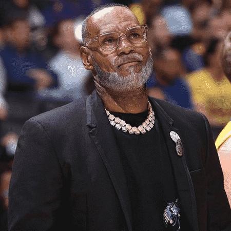 """LeBron James se rendeu ao """"filtro do idoso""""  - Reprodução/Instagram"""