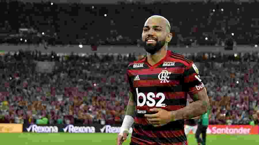 Gabigol, durante Flamengo x Internacional - Thiago Ribeiro/AGIF