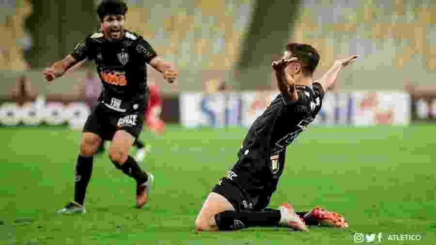 Luan atuou os 90 minutos e elogiou a mudança de postura do Galo no segundo tempo no Maracanã - Divulgação/Atlético-MG
