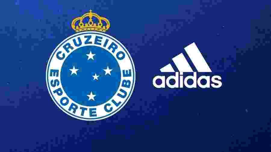 Cruzeiro cogitou romper contrato e criar marca própria, mas seguirá negociando com a Adidas, que permanece na camisa - Cruzeiro/Divulgação