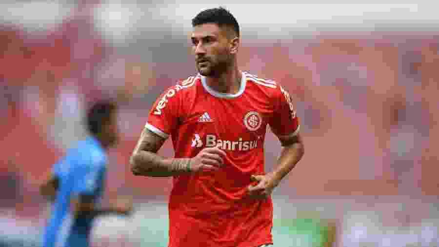 Gabriel Boschilia não atuará mais pelo Inter nesta temporada em razão de uma lesão - Ricardo Duarte/Inter