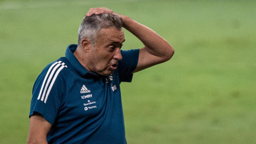 Domènec Torrent foi demitido do Flamengo após goleada sofrida para o Atlético-MG -  GLEDSTON TAVARES/FRAMEPHOTO/ESTADÃO CONTEÚDO