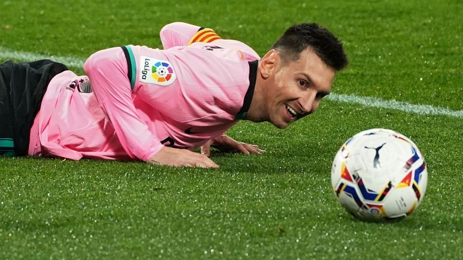 Barcelona recorda jogo em que Lionel Messi marcou quatro gols contra o Sevilla no sub-19 - CESAR MANSO/AFP