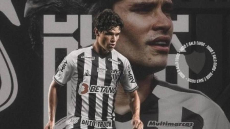 Dodô chega ao Atlético-MG após saída conturbada do Cruzeiro e quase um ano sem jogar - Reprodução