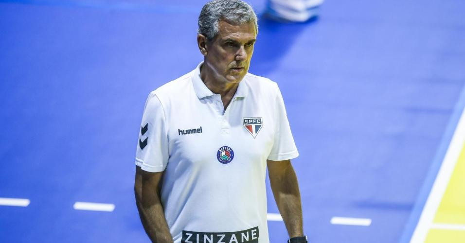 Técnico José Roberto Guimarães, do São Paulo/Barueri