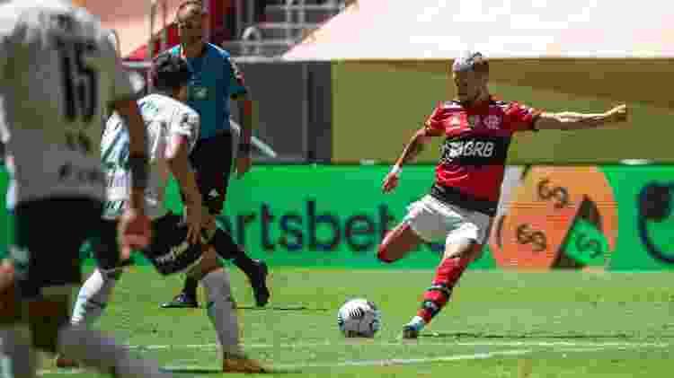 Lance do gol de Arrascaeta, do Flamengo, na Supercopa do Brasil - Alexandre Vidal / Flamengo - Alexandre Vidal / Flamengo
