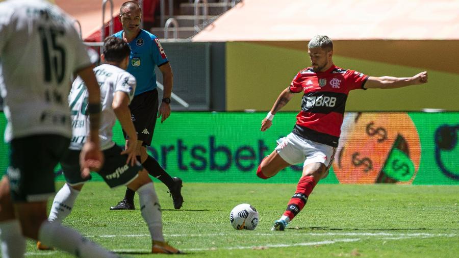 Arrascaeta não joga diante do Vasco - Alexandre Vidal / Flamengo