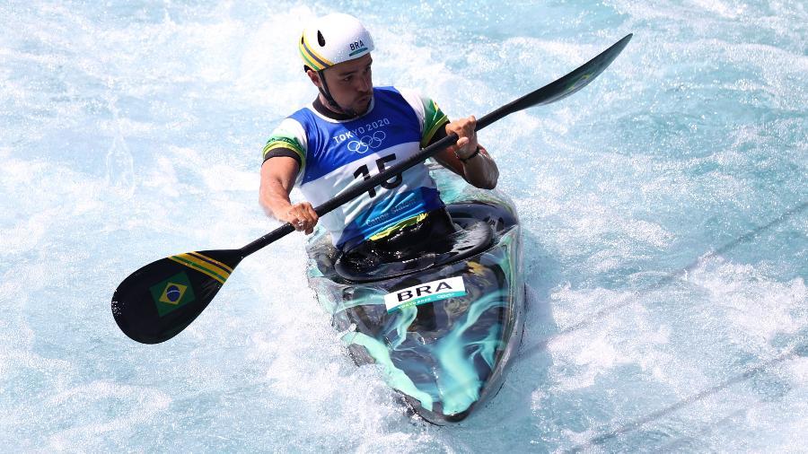 Pepê Gonçalves se classifica para as semifinais da canoagem slalom - Yara Nardi/Reuters