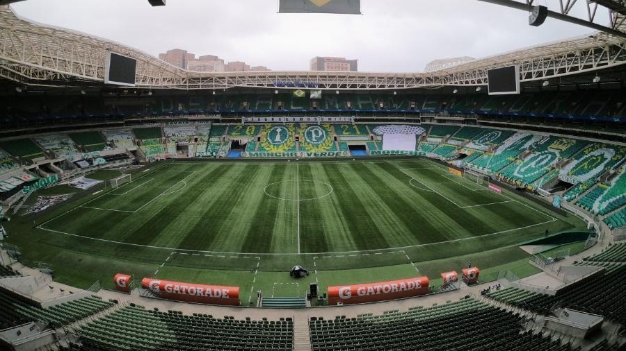 Allianz Parque estará vazio na próxima rodada na partida entre Palmeiras e Juventude - Divulgação/Palmeiras