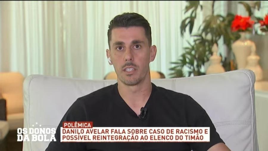 Danilo Avelar admite erro e explica episódio de racismo  - Reprodução/Band